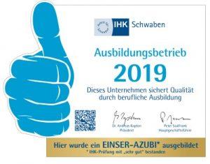 Ritter GmbH hat einen Einser-Azubi ausgebildet
