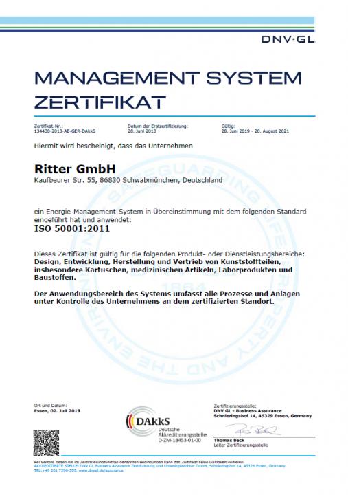 ISO 50001:2011 - Deutsch