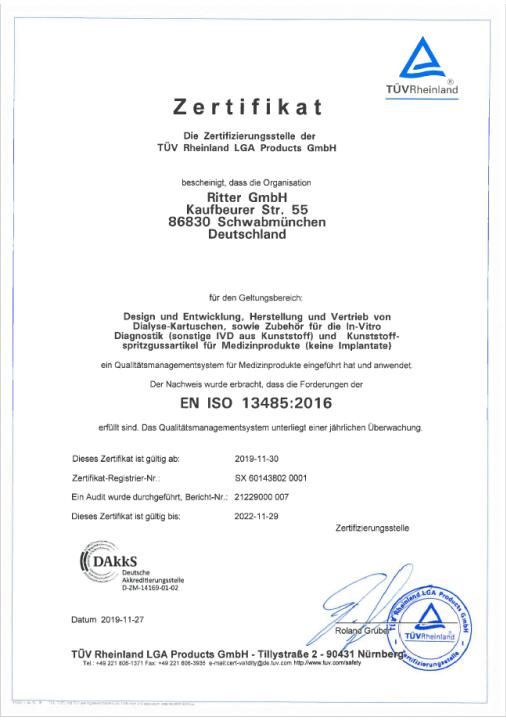 EN ISO 13485